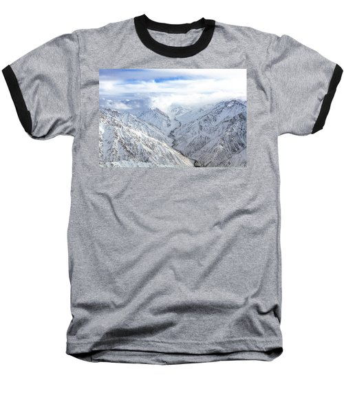 Salang Pass Baseball T-Shirt
