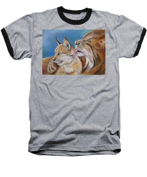 Baseball T-Shirt featuring the painting Saliega Y Brezo by Ceci Watson