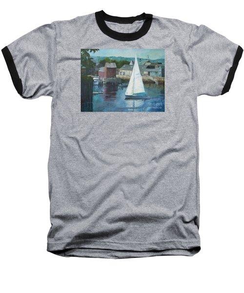 Saling In Rockport Ma Baseball T-Shirt
