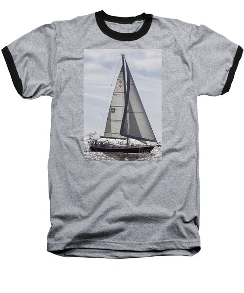 Saling Yacht Valkyrie Charleston Sc Baseball T-Shirt