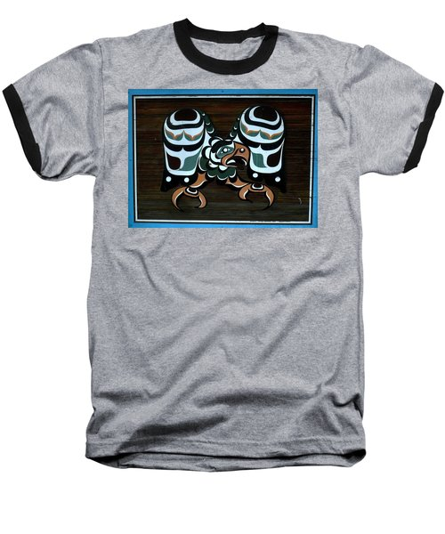 Baseball T-Shirt featuring the photograph Salish Painting by 'REA' Gallery