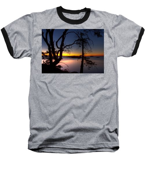 Salish Sunrise Baseball T-Shirt