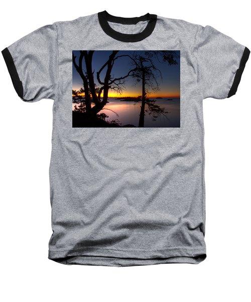 Salish Sunrise Baseball T-Shirt