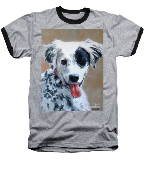 Baseball T-Shirt featuring the painting Sally by Diane Daigle