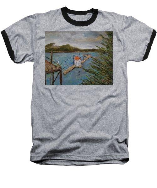 Salmon Hatchery, Juneau, Alaska Baseball T-Shirt