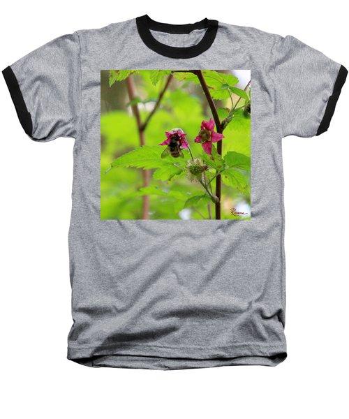 Salmonberry Honey Baseball T-Shirt