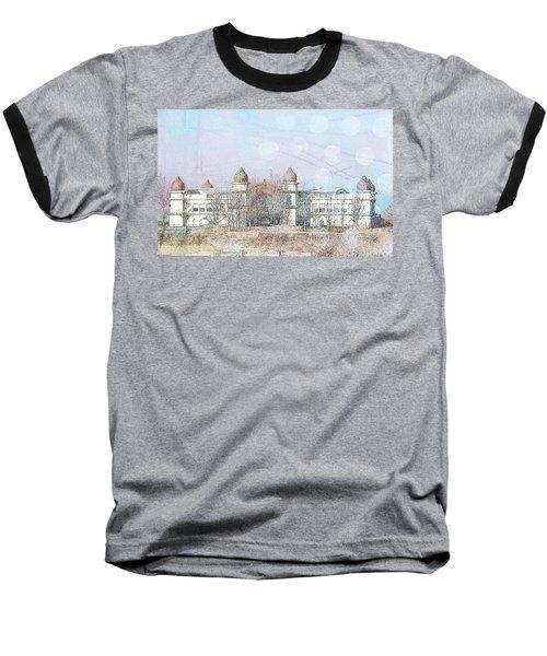Salt Air Baseball T-Shirt by Cynthia Powell
