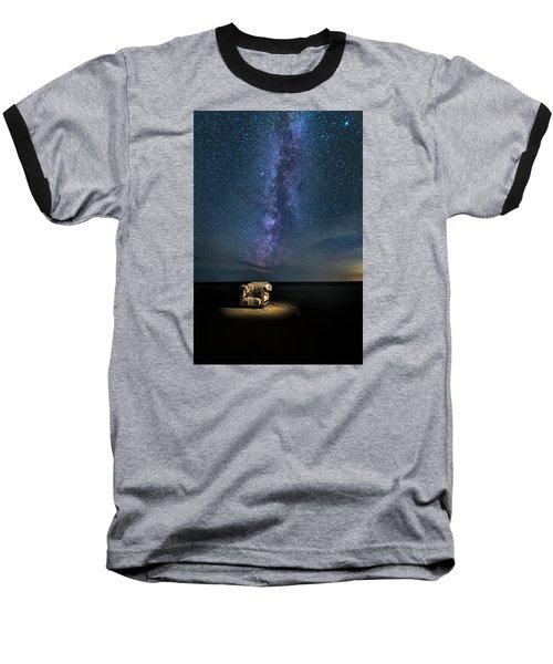 Salt Flats Milky Way Chair Baseball T-Shirt