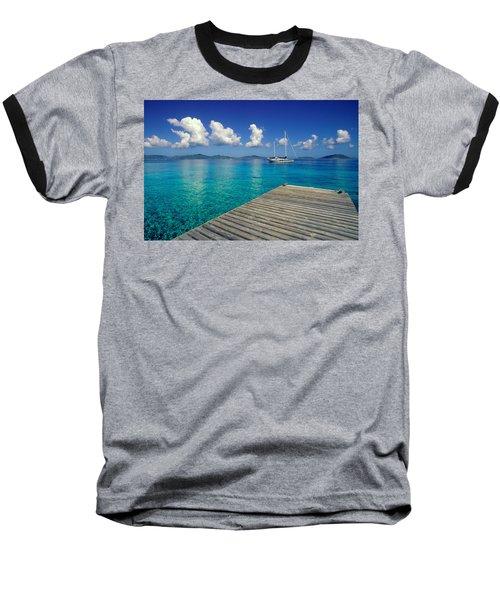 Salt Island Ancorage Baseball T-Shirt