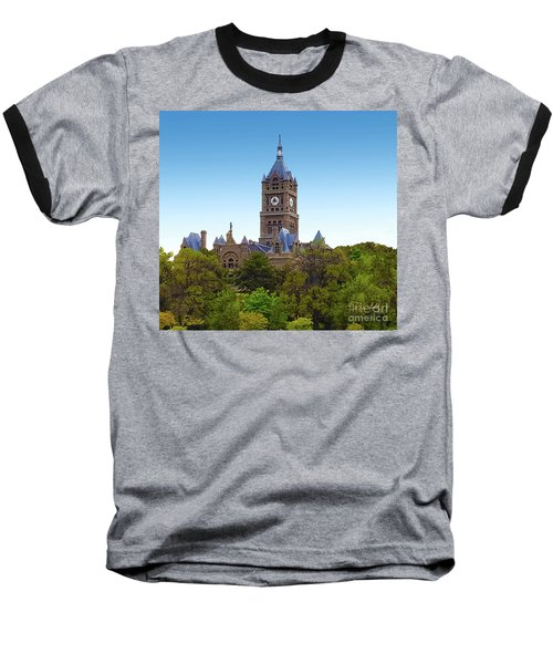 Salt Lake City Hall Baseball T-Shirt
