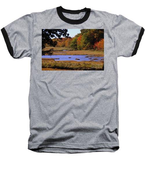 Salt Marsh River Baseball T-Shirt