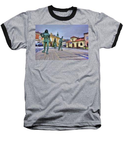 Baseball T-Shirt featuring the photograph Salt Miners Of Wieliczka, Poland by Juli Scalzi