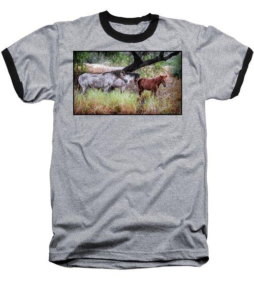 Salt River Wild Horses Baseball T-Shirt