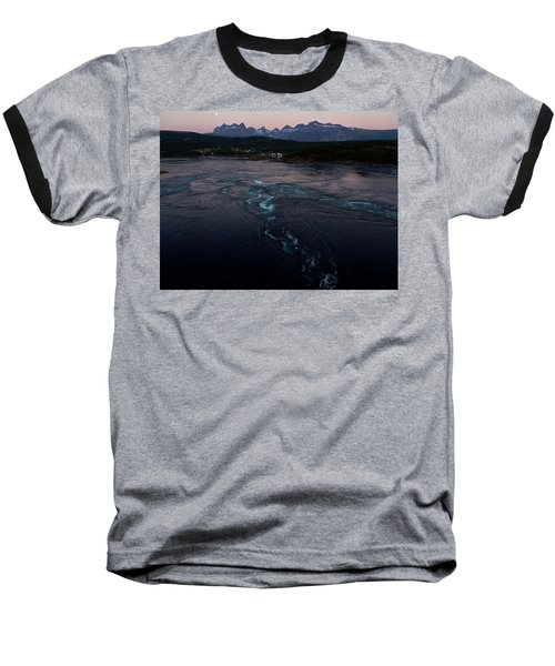 Saltstraumen, Magic Power Stream Baseball T-Shirt