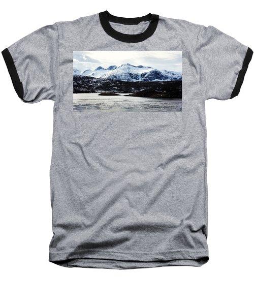Saltstraumen Baseball T-Shirt by Tamara Sushko