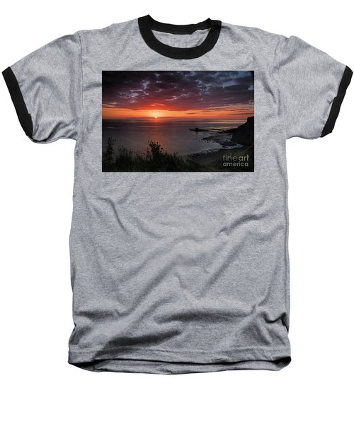 Saltwick Bay Sunrise  Baseball T-Shirt