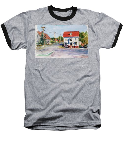 Salty Market, North Truro Baseball T-Shirt