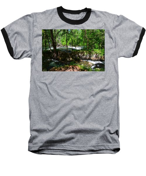 Saluda River Columbia Sc Baseball T-Shirt