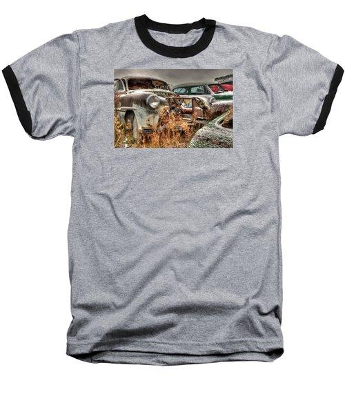 Salvage Time Baseball T-Shirt