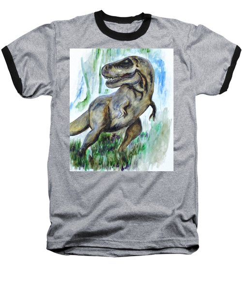 Salvatori Dinosaur Baseball T-Shirt