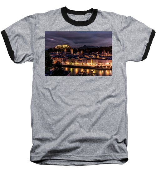 Baseball T-Shirt featuring the photograph Salzburg Austria by David Morefield