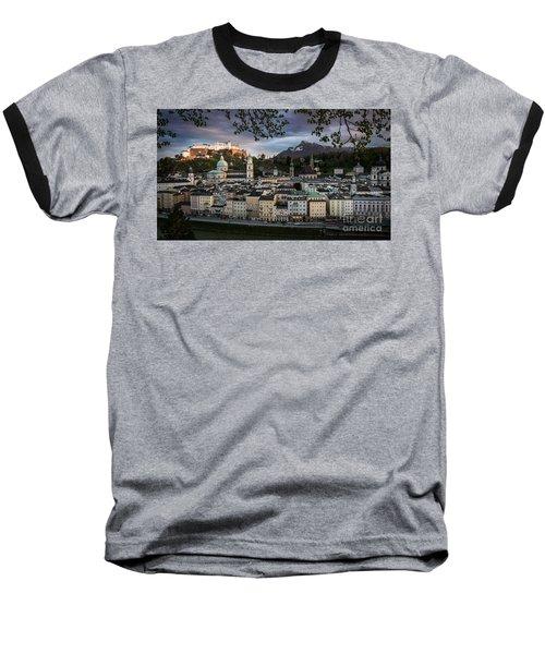 Salzburg Baseball T-Shirt by Maurizio Bacciarini