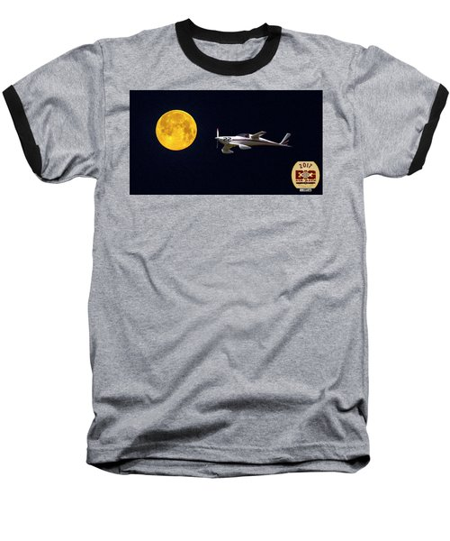 Sam And The Moon Baseball T-Shirt