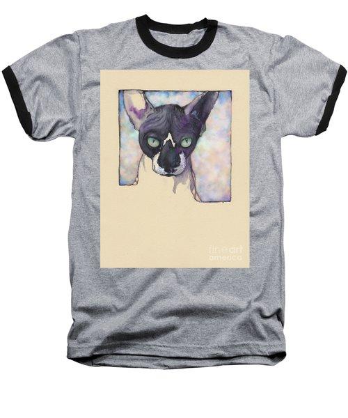 Sam The Sphynx Baseball T-Shirt