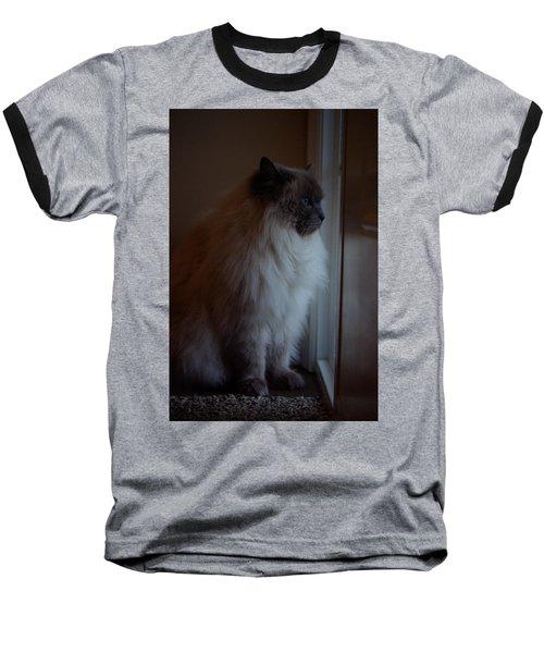 Sam Waits Baseball T-Shirt