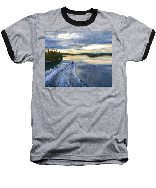 Sambro Basin II Nova Scotia Baseball T-Shirt by Heather Vopni