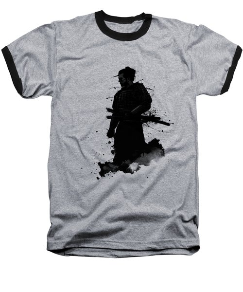 Baseball T-Shirt featuring the painting Samurai by Nicklas Gustafsson