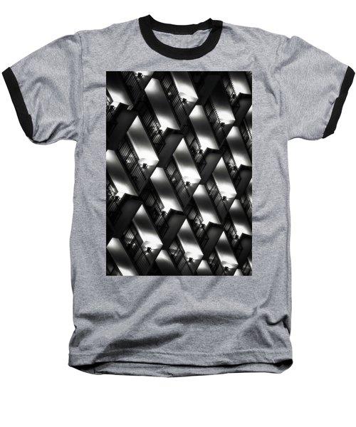 San Antonio At Night Baseball T-Shirt by Eduard Moldoveanu