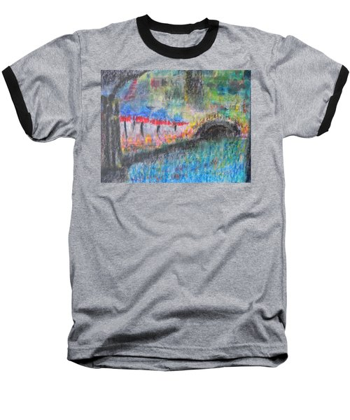 San Antonio By The River I Baseball T-Shirt