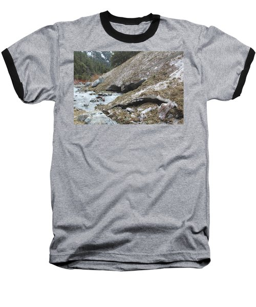 San Antonio Glacier Baseball T-Shirt by Viktor Savchenko