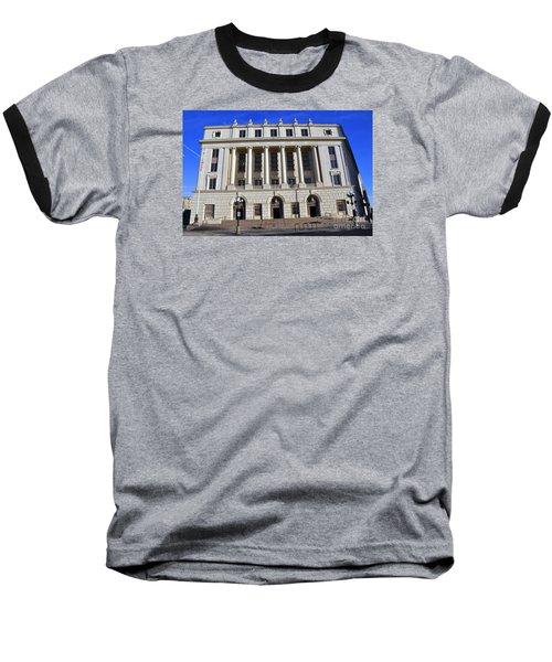 San Antonio Post Office Baseball T-Shirt