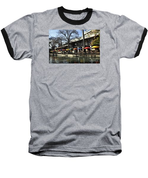 San Antonio River Walk 2 Baseball T-Shirt