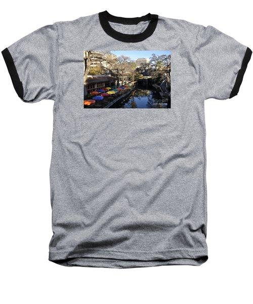 San Antonio River Walk Baseball T-Shirt