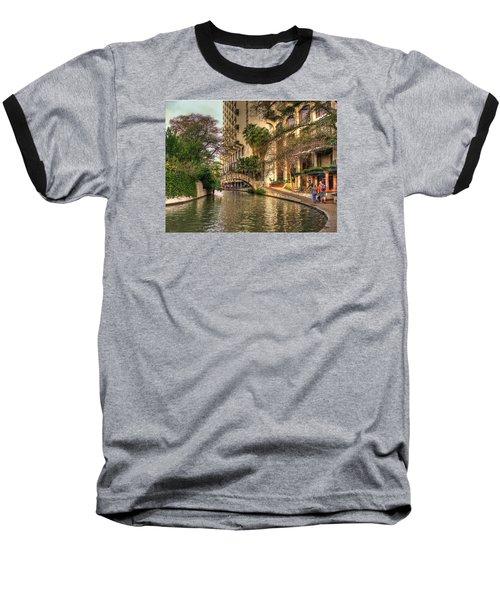 San Antonio Riverwalk Baseball T-Shirt