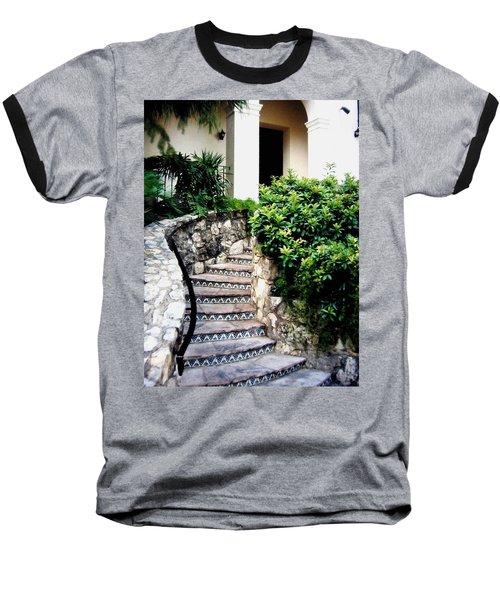 San Antonio Stairway Baseball T-Shirt