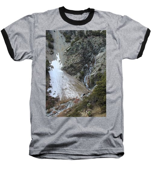 San Antonio Waterfalls Baseball T-Shirt by Viktor Savchenko
