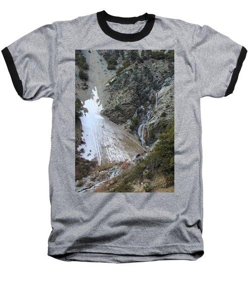 Baseball T-Shirt featuring the photograph San Antonio Waterfalls by Viktor Savchenko