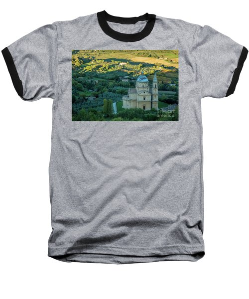 Baseball T-Shirt featuring the photograph San Biagio Church by Brian Jannsen