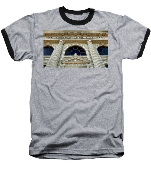San Buenaventura City Hall Baseball T-Shirt