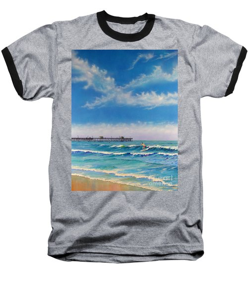 San Clemente Surf Baseball T-Shirt