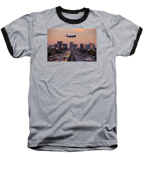 San Diego Rush Hour  Baseball T-Shirt by Sam Antonio Photography