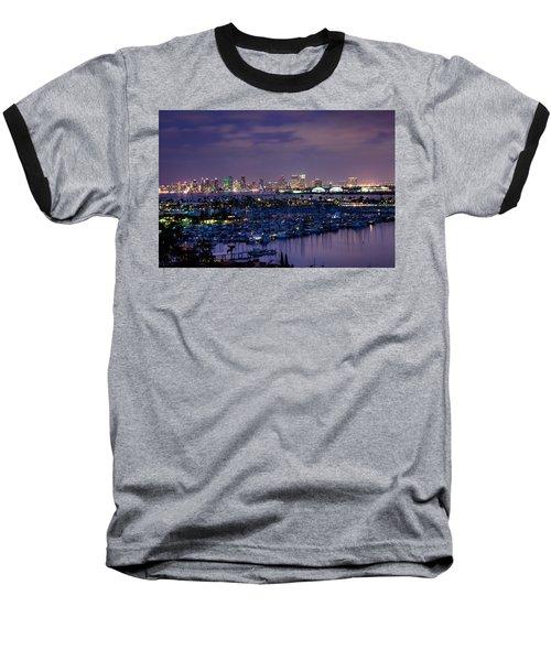 San Diego Skyline 4 Baseball T-Shirt