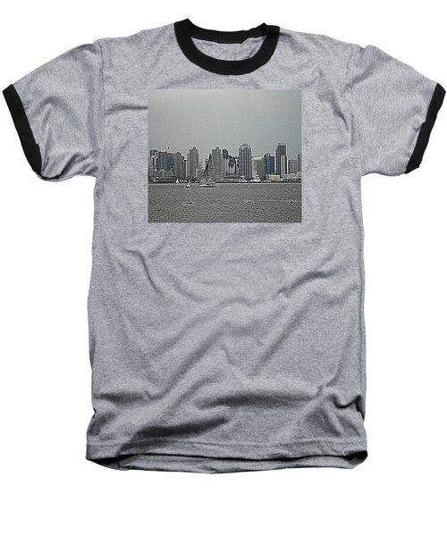 San Diego Waterfront Baseball T-Shirt