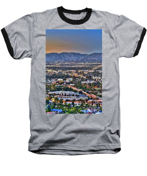 San Fernando Valley Vertical Baseball T-Shirt