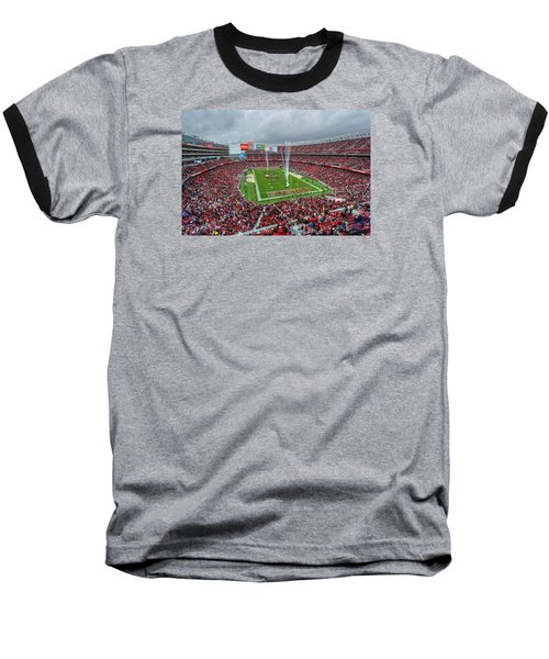 San Francisco 49ers Levi's Stadium Baseball T-Shirt
