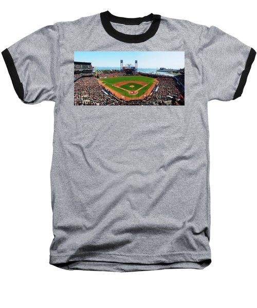 San Francisco Ballpark Baseball T-Shirt